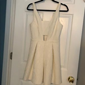 Top Shop white/ivory dress size 6 new with tags